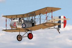 https://flic.kr/p/ThXCr4 | Randle C. Conrad | A replica Airco (Aircraft Manufacturing Company) DH.2 pusher aircraft at Omaka Aerodrome in New Zealand. The DH.2 was the second aircraft designed for Airco by Geoffrey de Havilland.