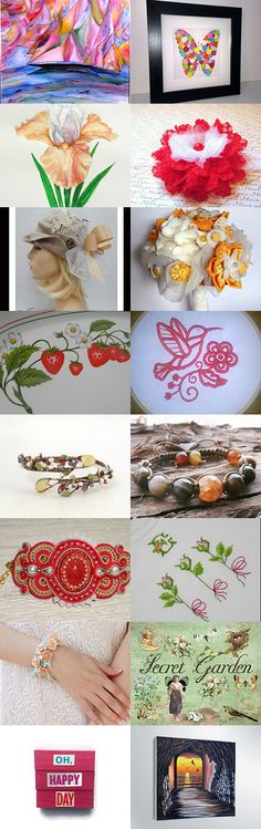 Summer days by Karen Dunn on Etsy--Pinned with TreasuryPin.com