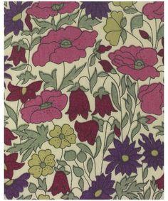 Liberty Art Fabrics Poppy and Daisy F Tana Lawn   Fabric by Liberty Art Fabrics   Liberty.co.uk