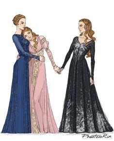 The Archeron sisters by phantomrin