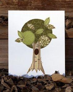 Framed Fabric Tree