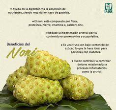 ...los beneficios del #noni para tu salud