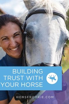 Learn how to build a strong bond with your horse in and out of the saddle. As your relationship with your horse progresses, you'll find trust is essential. Horse Care, Lessons Learned, Trust Yourself, Equestrian, Bond, Relationship, Strong, Exercise, Horses