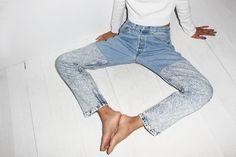 b sides halfsie jeans