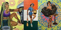 'Badass Indian Pinups' Artist Nimisha Bhanot Talks Art, Identity and Female Empowerment |brown girl Magazine