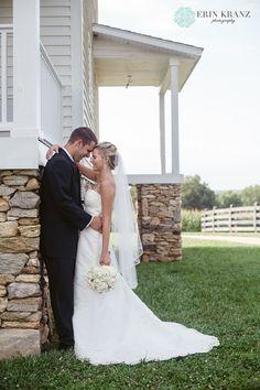 Erin Kranz Photography » Charlotte NC Wedding Photographer » Hunting Creek Farms Wedding