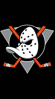 Nhl Logos, Hockey Logos, Hockey Memes, Anaheim Ducks, Duck Wallpaper, Rugby Wallpaper, Ducks Hockey, Duck Logo, Sports Flags