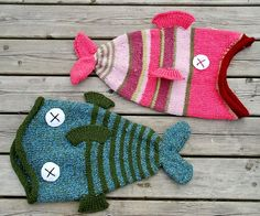 I love these dead fish hats! Found on the internet in all sizes, newborn thru adult