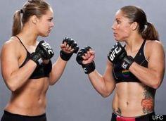Ronda Rousey y Liz Carmouche, tirando estigmas