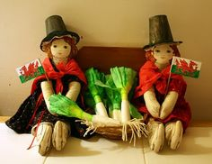 Welsh tradition crafts --- Filth Wizardry: Saint David's day crafts