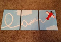 Airplane painting - Owen