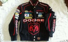Youth size 5-6 JH Designs Dodge Ram Racer Jacket excellent condition in Clothing, Shoes & Accessories, Kids' Clothing, Shoes & Accs, Boys' Clothing (Sizes 4 & Up) | eBay