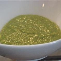 Asparagus Soup in Seconds food-and-drink