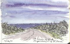 """Excerpt from Keweenaw Journal: """"First View of Lake Superior"""" by Marilynn Brandeburger"""
