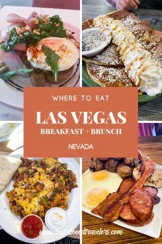 Looking for the best places to eat breakfast and brunch during your Las Vegas vacation? Food lovers must check out this quick travel food guide on the best restaurants to visit OFF THE STRIP including Baby Birds Cafe, The Egg & I, Omelet House, Babystacks, The Bagel Cafe, Hash House A Go Go, the iconic Peppermill Restaurant, and more! www.thetattooedtravelers.com // Las Vegas Breakfast // Las Vegas Food // Best // Cheap // Budget // Off The Las Vegas Strip // #lasvegas #nevada #food