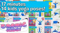 Learn the yoga poses! Join Jaime for 14 different yoga poses one after the other. From Aeroplane to Turtle and Door to Lizard, this is a really fun way to le. Kids Yoga Poses, Yoga For Kids, Fun Vid, Childrens Yoga, Yoga Meditation, Cosmic, Turtle, Universe, Join