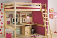 1000 images about lit on pinterest lit mezzanine bureaus and mezzanine - Bureau sous lit mezzanine ...