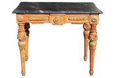 Get the Look | One Kings Lane..Italian Painted Console..