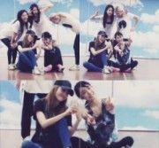 Girls' Generation Makes Funny Poses in Practice Room, 'Cuties' #girlsgeneration #jessica #tiffany #hyoyeon #seohyun