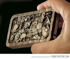 Steampunk iPhone Case! So cool, but it must cost a billion. . .