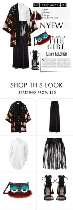 """""""What to Pack: NYFW  -The High Fashion Mix"""" by marybloom ❤ liked on Polyvore featuring RED Valentino, Etro, rag & bone, Post-It, Kershaw, Fendi, Zimmermann, Louis Vuitton and NYFW"""