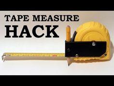 Tape Measure Hack / Trick - YouTube