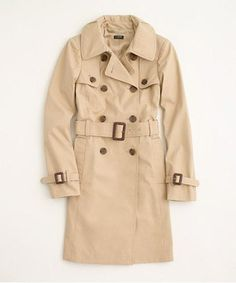 25 Too-Good-To-Be-True Trench Coats Under $150: Factory Classic Trench Coat, $128, factory.jcrew.com