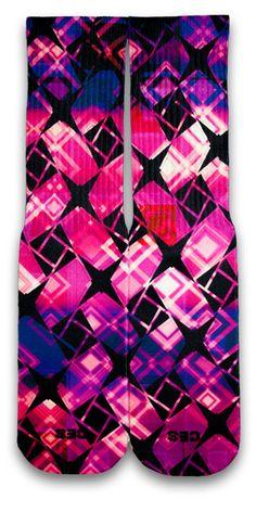 Shuriken Noir CES Custom Socks - CustomizeEliteSocks.com