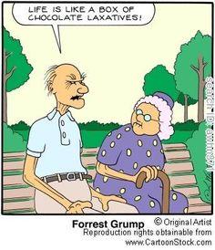 Forrest Gump - Senior Years