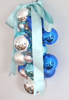 Coordinately Yours Entertaining & Design that Celebrates Life: DIY Ornament Swag