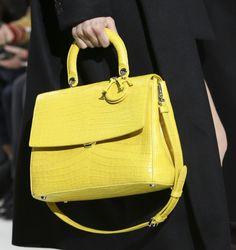Handbag gialla Dior