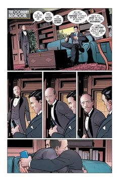 Bruce and Alfred. I'm going to cry, Alfred is so underrated.