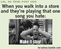 """LOL SO TRUE POSTS - Funniest relatable posts on Tumblr. happens all the tome in walmart, ugh, """"what makes you beautiful."""""""