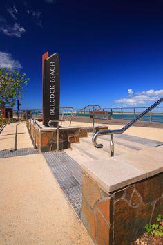 Bulcock Beach Esplanade Redevelopment | Caloundra Australia | PLACE Design Group #promenade #design #landscape #waterfront #signage #gateway