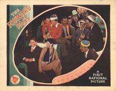 Douglas Fairbanks Jr., Allan Lane, Bert Rome, and Loretta Young in The Forward Pass (1929)