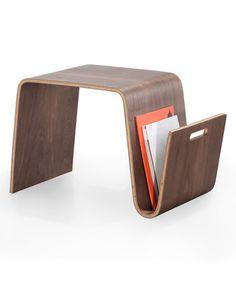 Look at this #zulilyfind! Light Walnut Bentwood Magazine Table #zulilyfinds
