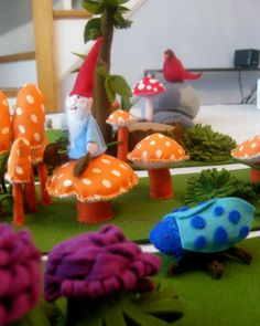 Woodland fairies & gnomes