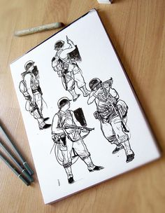 Soldiers Sketch