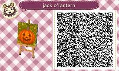 cygnettesnoires:      Here's my first ACNL path! It's for fun autumn or Halloween grass.