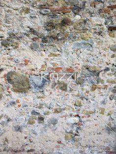 old weathered stone wall. - Weathered stone wall in a macro image.