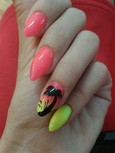 My summer nails 💅🌴