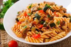 Welcome to my Syn Free Slimming World Vegetable Pasta in the Slow Cooker.