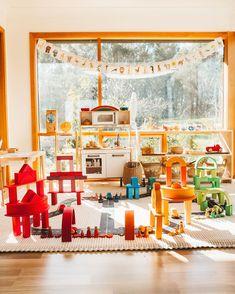 Rainbow City, Wooden Rainbow, A Year Ago, Playroom Ideas, Colours, Ark, Toys, Building, Cities