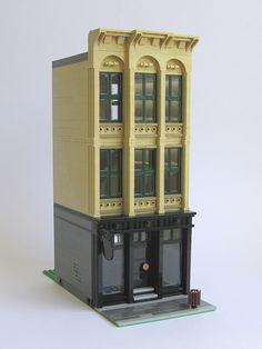 Cast Iron Building by Kristel