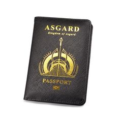 Asgard Passport Case Marvel Fan, Marvel Avengers, Marvel Comics, Heroes Actors, Marvel Clothes, Fandom Jokes, Truc Cool, Nerd Gifts, Try Not To Laugh