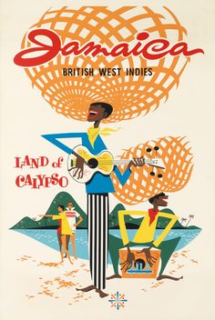 JAMAICA / BRITISH WEST INDIES / LAND OF CALYPSO.