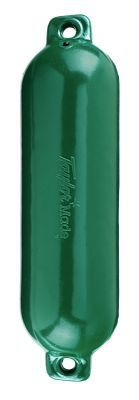 Taylor Made Hull Guard Inflatable Vinyl Fender - Hunter Green - 5.5''x20''