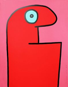 Red Head - Thierry Noir