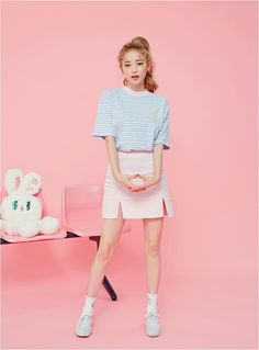 22 Cute Pastel Clothes Ideas for Your Casual Style Cute Fashion, Fashion Models, Girl Fashion, Fashion Trends, Style Outfits, Cute Outfits, Fashion Outfits, Ulzzang Fashion, Ulzzang Girl