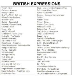 Some British slang expressions translated. Book Writing Tips, English Writing Skills, Writing Words, Dialogue Writing, Learning English, English Vocabulary Words, Learn English Words, English Phrases, Slang English